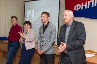 Выступление на мастер-классе по Wingwave-coaching совместно с Др. Вернером Регеном и Павлом Слободским_1