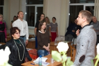 Выступление на мастер-классе по Wingwave-coaching совместно с Др. Вернером Регеном и Павлом Слободским_2