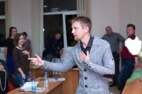 Выступление на мастер-классе по Wingwave-coaching совместно с Др. Вернером Регеном и Павлом Слободским_3