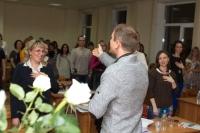 Выступление на мастер-классе по Wingwave-coaching совместно с Др. Вернером Регеном и Павлом Слободским_4