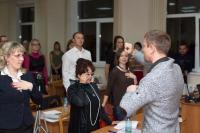 Выступление на мастер-классе по Wingwave-coaching совместно с Др. Вернером Регеном и Павлом Слободским_5