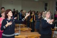 Выступление на мастер-классе по Wingwave-coaching совместно с Др. Вернером Регеном и Павлом Слободским_6
