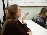 На Речевом практикуме в рамках XIX Сибирской молодёжной Ассамблеи